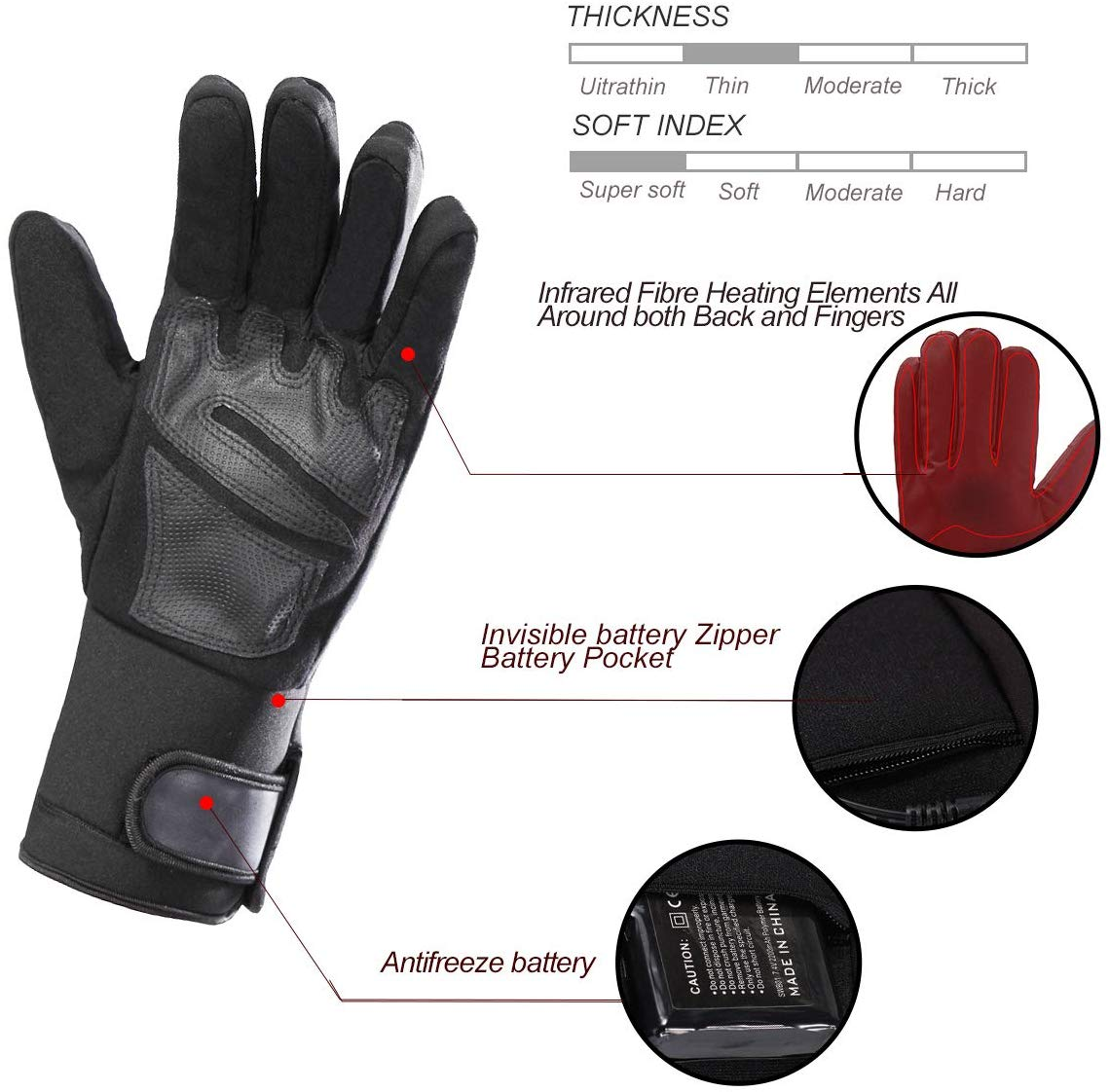 Savior is a company specializing in heating gloves. They found the perfect solution for your hand in cold winter.